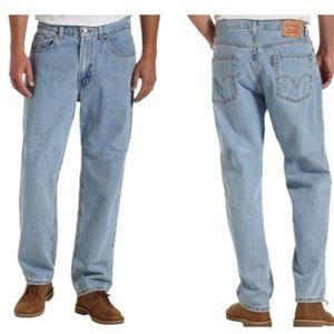 Levi's 560 Classic Comfort Fit Stonewash Jeans